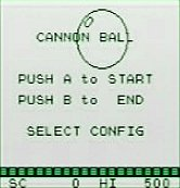 CANNON BALL title screen